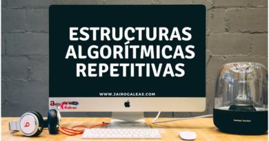 Estructuras algorítmicas repetitivas