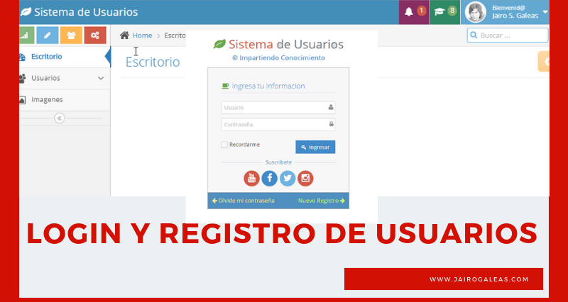 Login y Registro de Usuarios