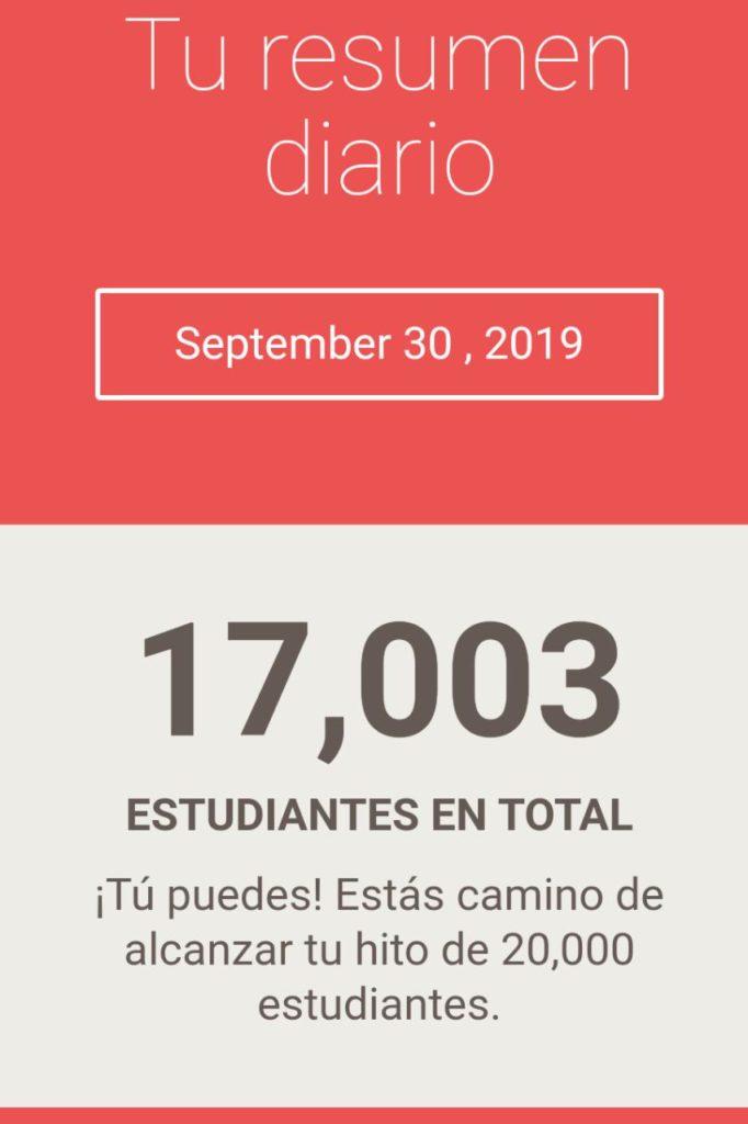 Diez y siete mil alumnos Jairo Galeas