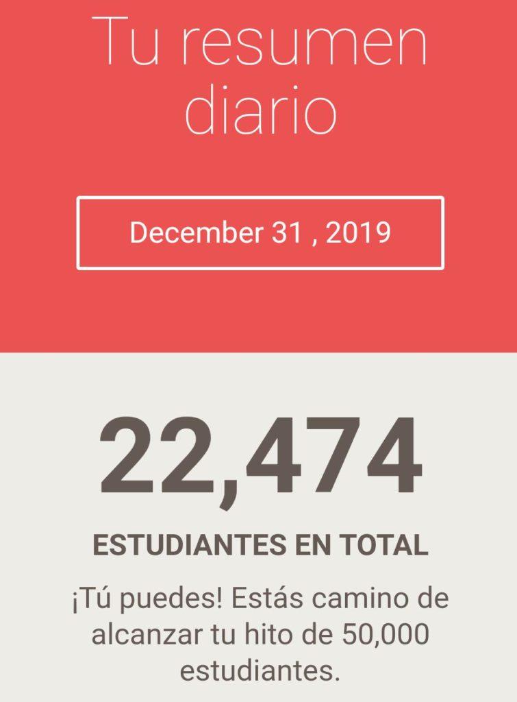 Veinte y dos mil estudiantes Jairo Galeas